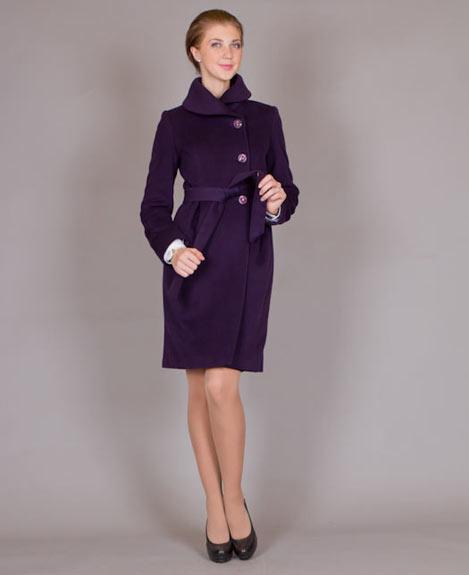 Осеннее женское пальто, фото