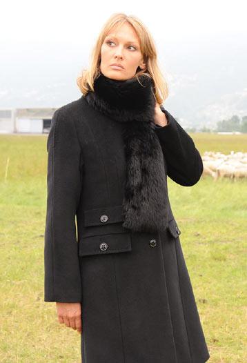 Зимнее пальто 2012.  Модная женская одежда.  Пальто женское из кашемира.