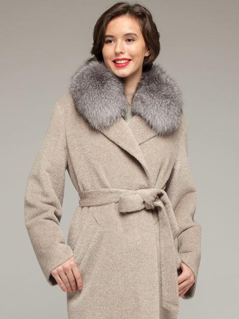 Женское зимнее пальто, фото