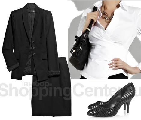 Деловая офисная одежда для женщин