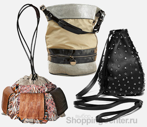 На фото модные женские сумки 2012: сумка Missoni с карманами...