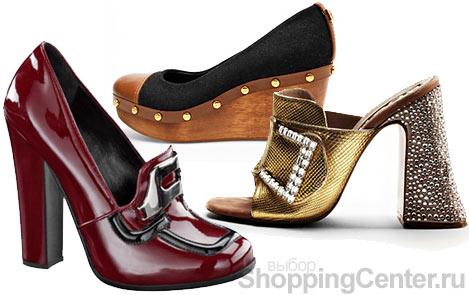Женские туфли 2010. Модная обувь