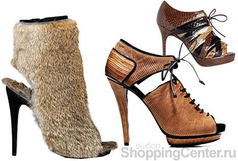 Модная обувь 2010