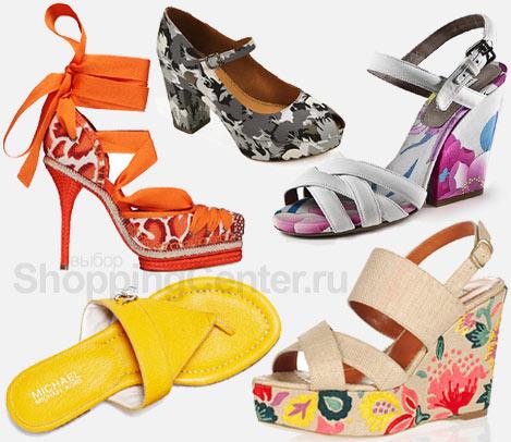Модная обувь 2012. Женские туфли и босоножки, фото