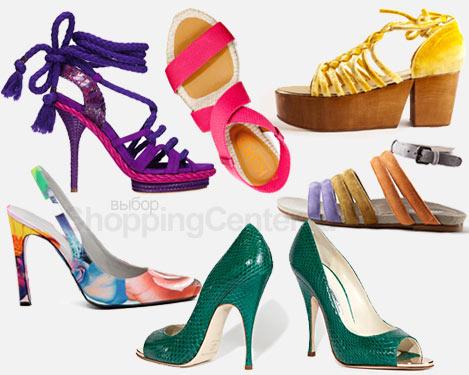 Модная обувь 2011. Женская обувь, фото
