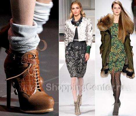 Модная обувь 2017. Модные женские ботинки