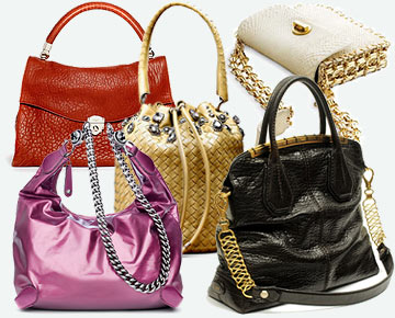Модные сумки 2010 от Kathleen Dustin.