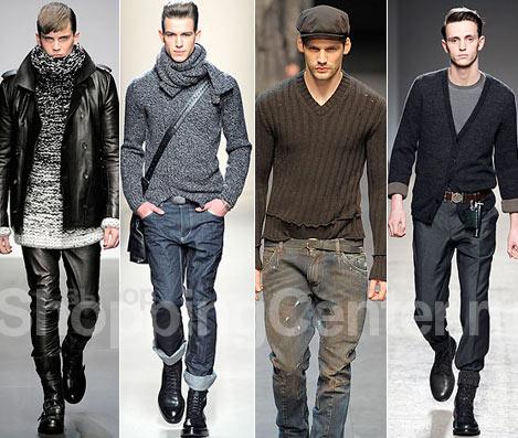 Мужская Мода Весна Осень
