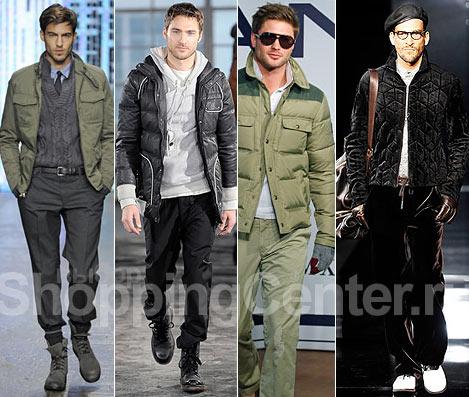 Мужская одежда Осень Зима, мужская обувь,