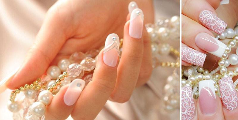 Френч на ногтях 2021, 55 фото дизайна ногтей и 8 самых красивых видов французского маникюра