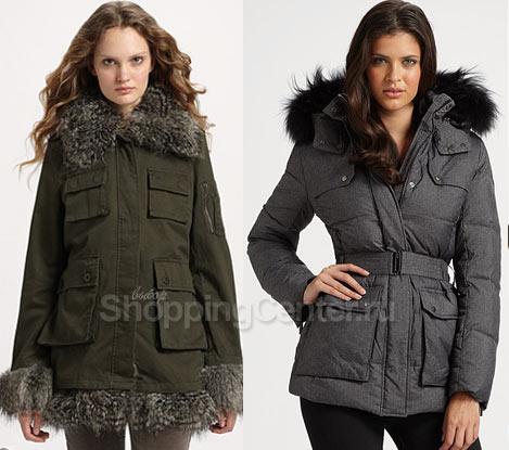 Женские зимние модные куртки 2021, фото
