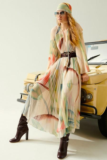 Модное платье из коллекции Etro