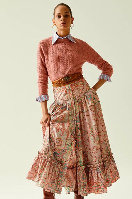 Юбка с рубашкой из коллекции Etro