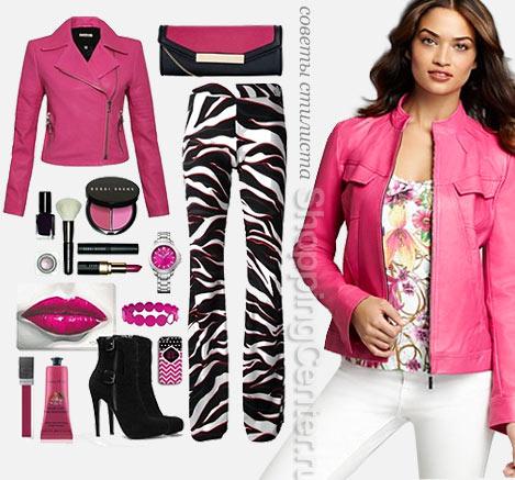 Яркие цвета – модный образ