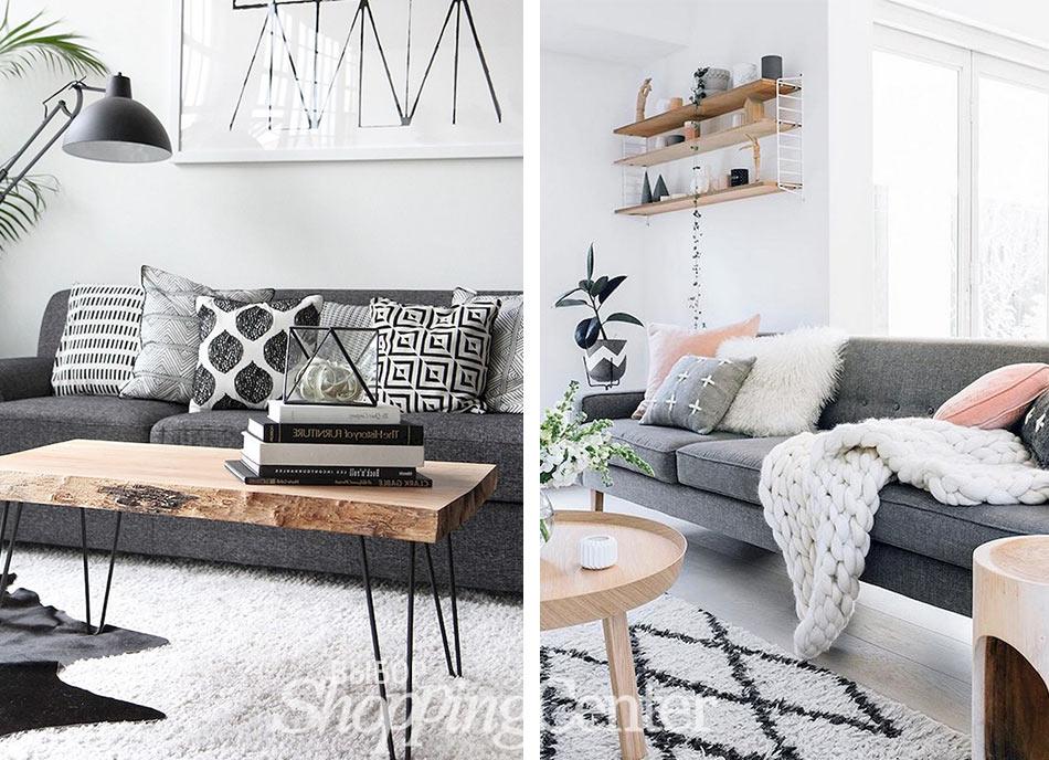 Декоративные текстильные вещи в интерьере