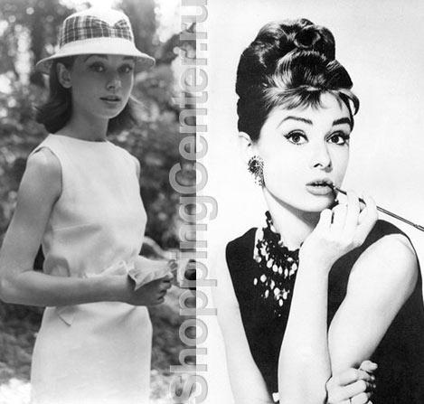На фото Одри Хепберн и ее знаменитые позы