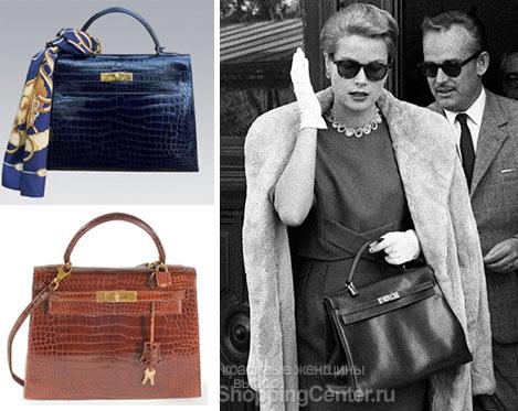 Грейс Келли и знаменитая сумка Hermes Kelly