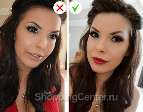 Советы про макияж: девушкам с зимним типом внешности красная помада подходит идеально