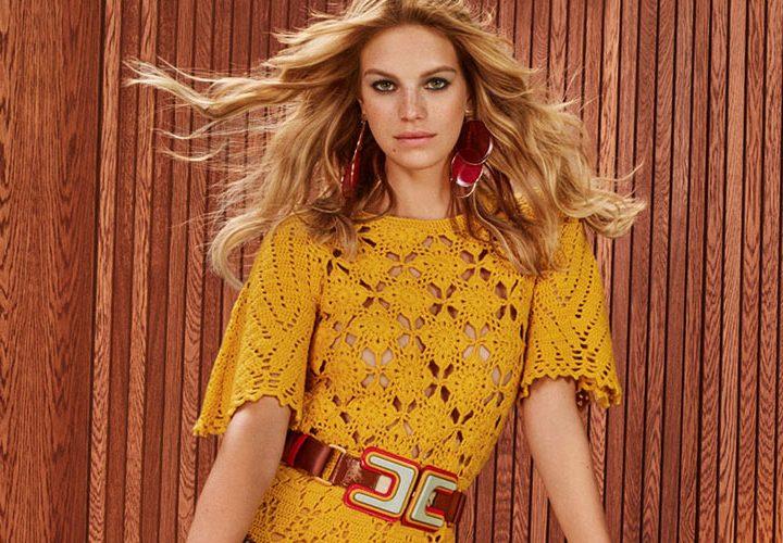Платья в стиле 70-х годов, юбки и прически