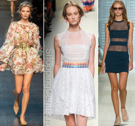 Модные платья лета 2019. Фото из коллекций: Dolce & Gabbana, Alberta Ferretti, Lacoste