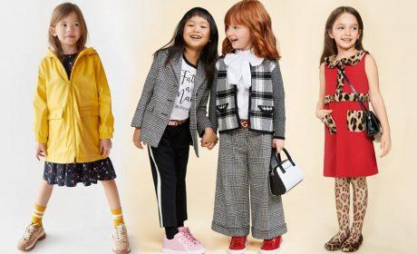 Модная одежда для девочек: Осень – 2019