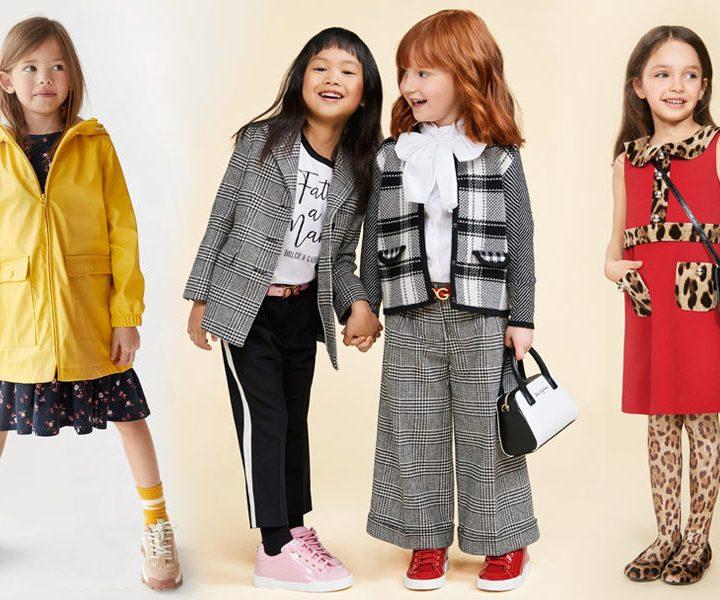 Модная одежда для девочек на осень