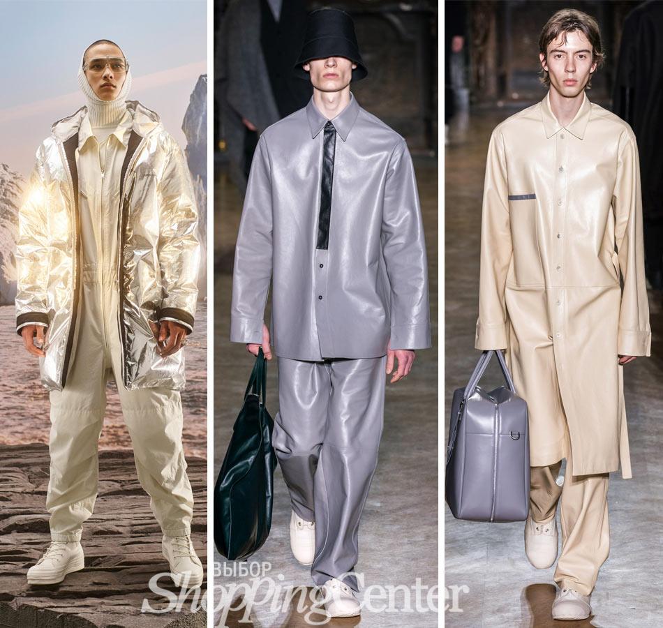 Модная одежда 2019 из новых материалов. Фото: Ambush, Jil Sander