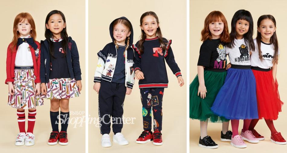 Модные принты в осенней одежде 2019. Фото: Dolce & Gabbana
