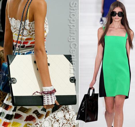 Модные сумки из летних коллекций Chanel и Ralph Lauren