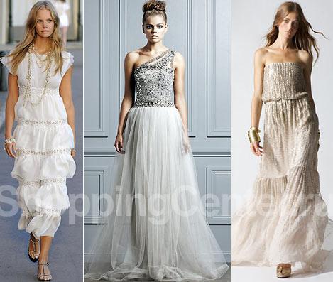 Платья для невесты, фото: Chanel, Collette Dinnigan, Halston