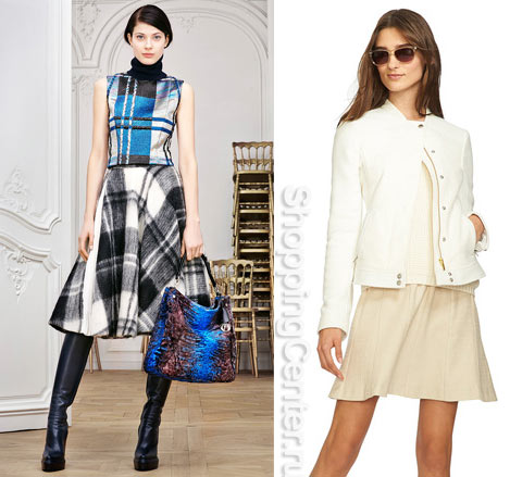 """Модные юбки """"солнце"""". Фото юбок из модных коллекций: Christian Dior, Banana Republic"""