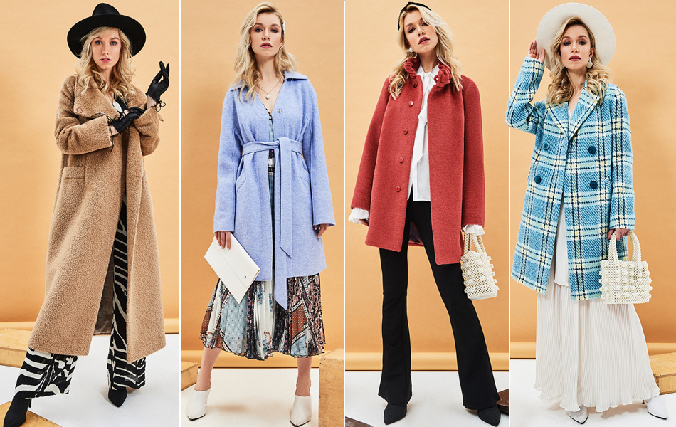 Женские пальто для осени