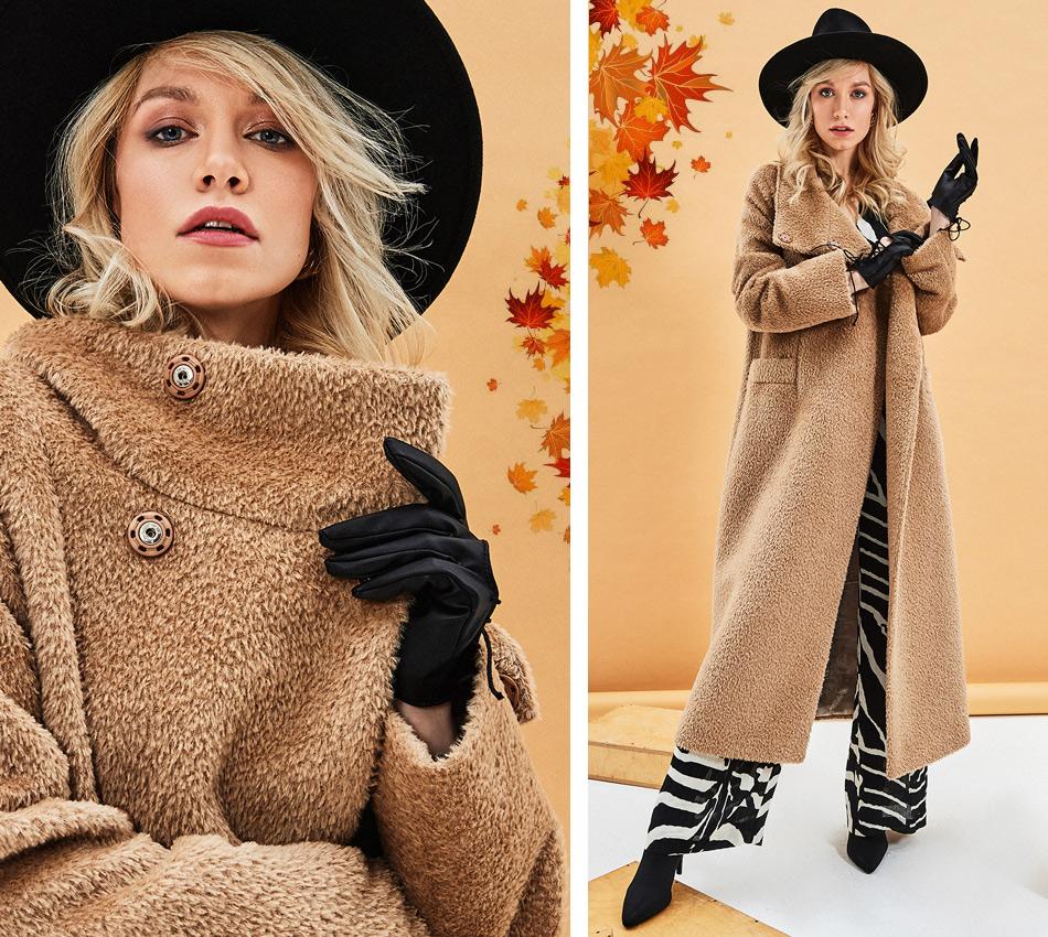 Модное пальто на осень