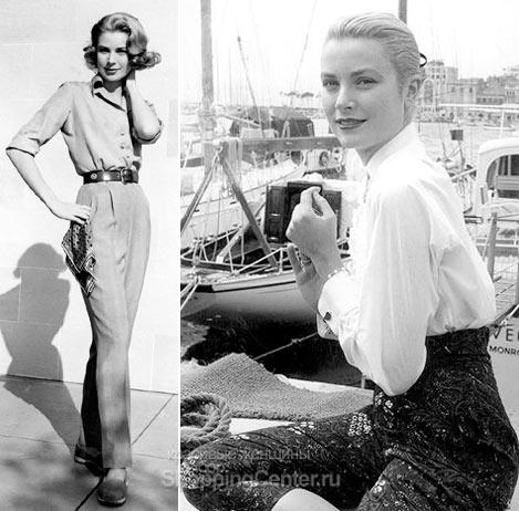 даже повседневную одежду Грейс умела носить стильно
