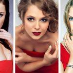 Макияж к красному платью, советы визажиста