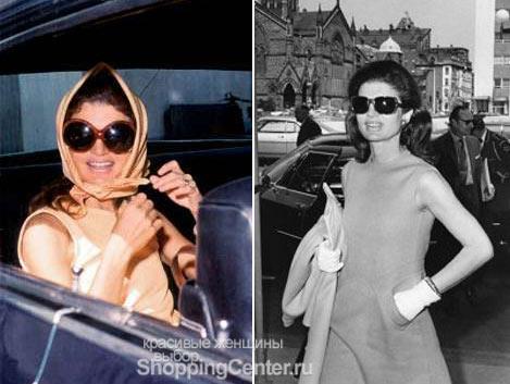 Джеки любила носить солнцезащитные очки