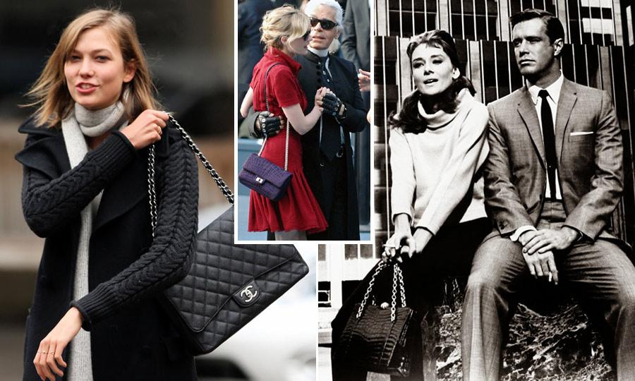 стильные сумки на цепочке, дизайн Шанель