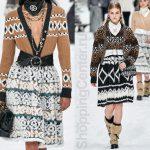 Пушистые юбки из коллекции Chanel