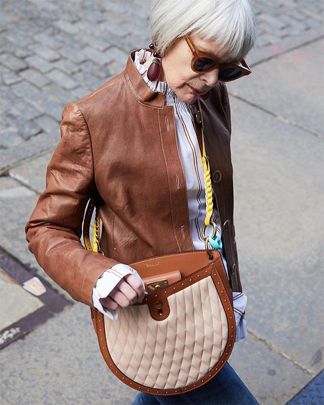 Фото, как одеваться за 60