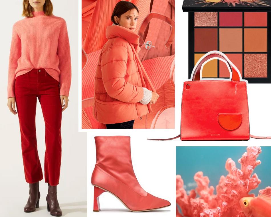Коралловый - самый модный цвет года
