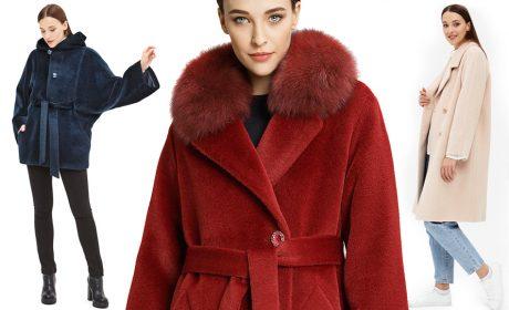 Модные цвета пальто на зиму 2019-2020