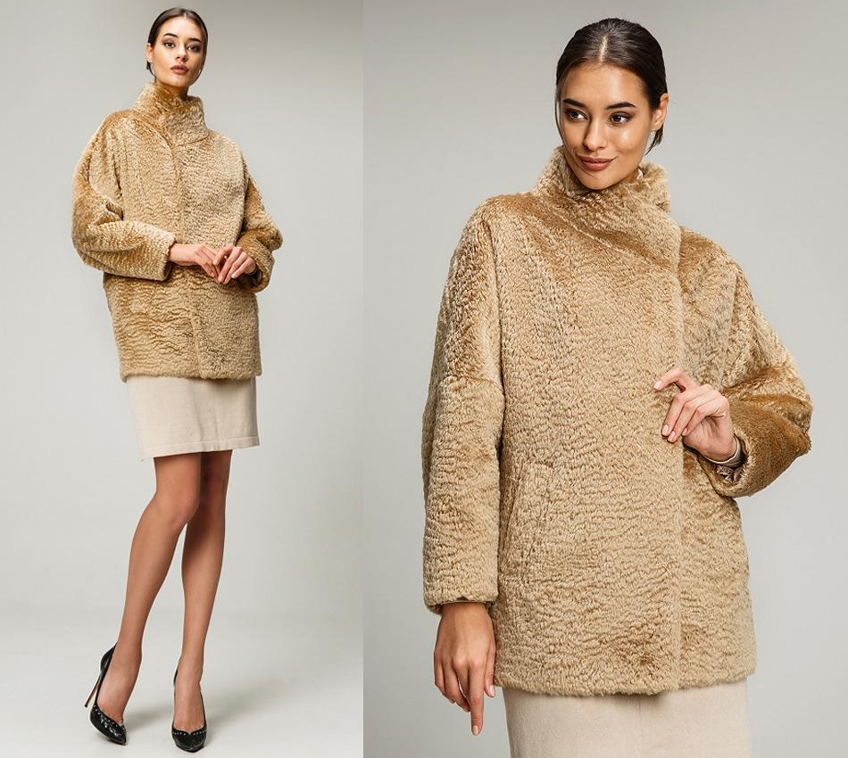 Пальто из альпаки и виргинской шерсти