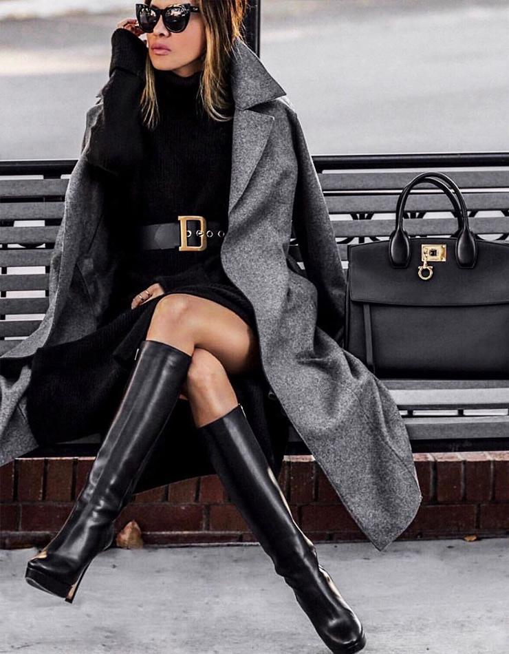 Фото, как красиво одеваться зимой