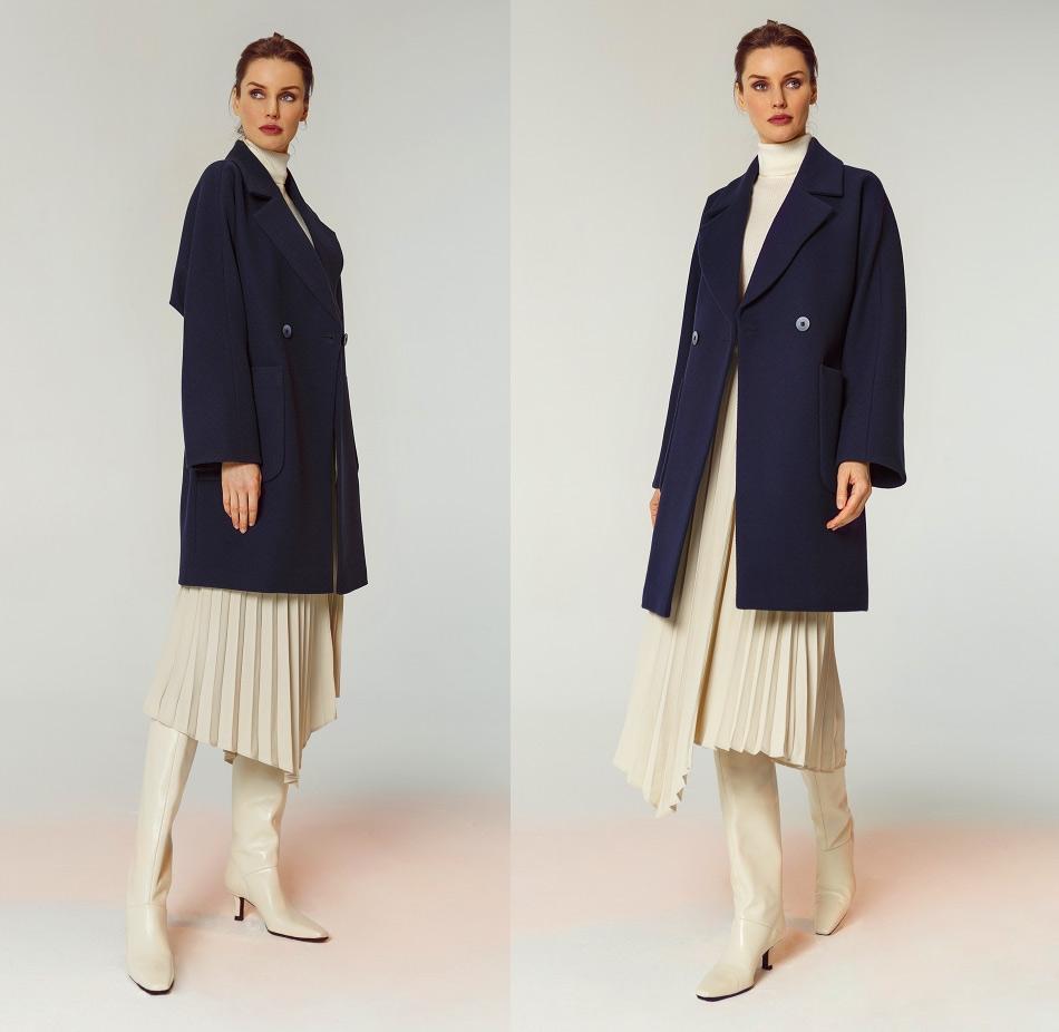 Кашемировое весеннее пальто