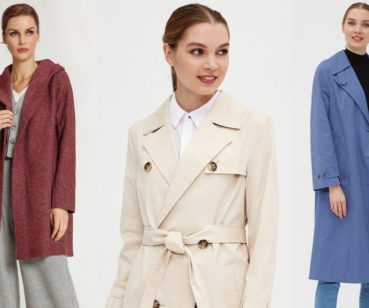 Модные женские пальто и плащи – Весна 2020