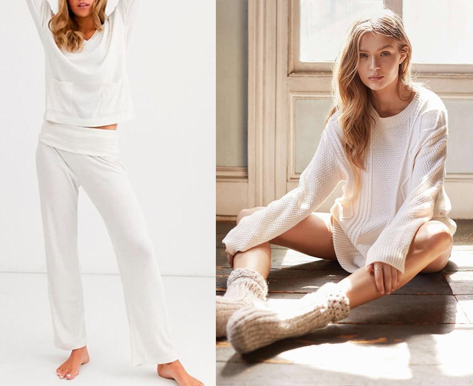 Белая домашняя одежда