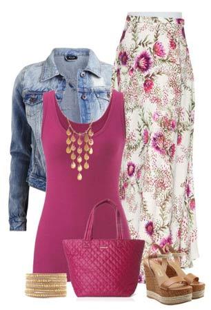 Цвета в одежде