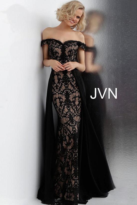 Черное платье Jovani