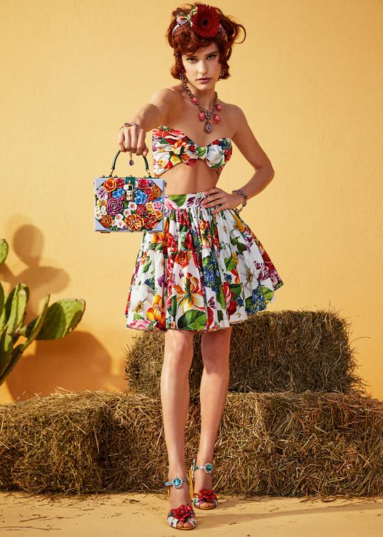 Модная одежда из коллекции Dolce and Gabbana