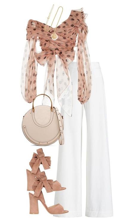 Белые брюки - модный хит лета